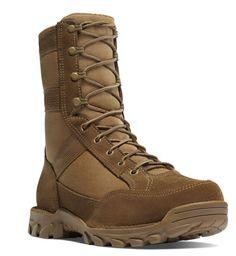 "Danner RIVOT TFX 8"" COYOTE NON-METALLIC TOE Military Boots AR 670-1"