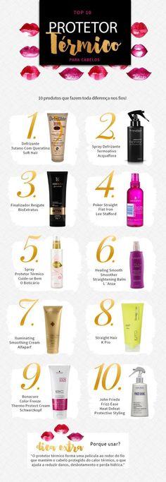 protetor térmico para cabelos juro valendo Beauty Care, Beauty Skin, Health And Beauty, Beauty Tips For Hair, Beauty Hacks, Hair Beauty, Hair Gloss, Make Makeup, E 10