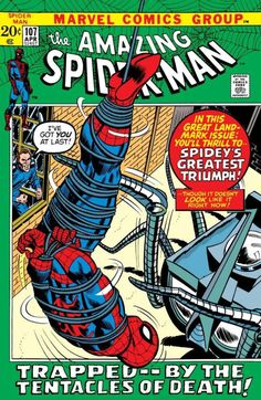 This Amazing Spider-Man issue was published in April 1972 by Marvel Comics! For Sale is a 1972 Amazing Spider-Man Comic In my opinion, this Comic is in Fine/Very Fine Condition. The Comic in the scans is the actual Item you will receive. Amazing Spiderman, Amazing Spider Man Comic, Spiderman Classic, Marvel Comics, Marvel Comic Books, Comic Books Art, Book Art, Marvel Heroes, X Men