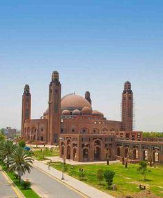 Grand Jamia Mosque, Lahore, Pakistan