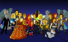 doctor who en los simpsons gif - Buscar con Google