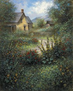 McNaughton Fine Art Company - Country Home 11x14 LE Signed