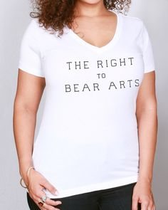 Right To Bear Arts Campaign Fundraiser - unisex shirt design ...