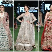 : PFDC L'Oréal Bridal Week Day 1 Designers Hussain Rehar, Nida Azwer and Saira Shakira Shine! Womens Fashion For Work, Work Fashion, Fashion Design, Women's Fashion, Maria B Bridal, Saira Shakira, Nida Azwer, Secret Closet, Couture Looks