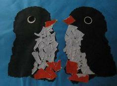 pinguins knutselen voor peuters en kleuters