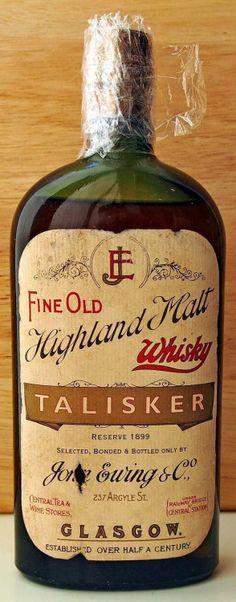 Tartan Tweed Tails Alcoholic Drinks Beverages Irish Whiskey Bourbon