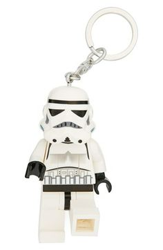 Lego 'Stormtrooper' LED Key Chain http://rstyle.me/n/dyia6pdpe