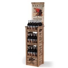 wine displays | Masked Rider Display