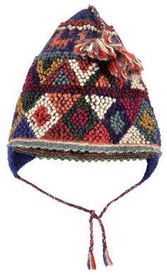 Peruvian Handknit Bobble Hat Mittens Pattern 677296b74e97