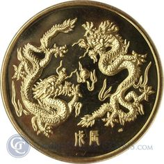 Great Deals On 1988 Singapore 5 oz Year of the Dragon Proof Gold - With Box and COA At Gainesville Coins. Securely Buy Gold And Silver Online. Canadian Coins, Year Of The Dragon, Gold And Silver Coins, Gold Bullion, Royal Jewelry, Amai, Chinese Art, Postage Stamps, Singapore