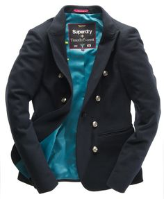 Superdry The Muse Jacket Timothy Everest range for women is so fit