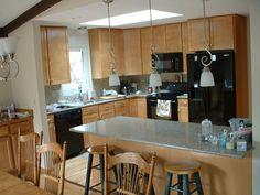 Comfortable kitchen, Custom Cabinets