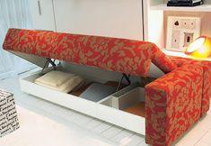 Sofa con lugar para guardar