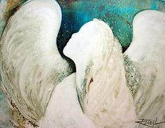 angel+paintings   ReneaL › Portfolio › EN968 Angel Painting