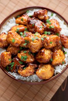 Skip the takeout and have a Chinese favorite at home: a delicious sweet and sour sauce poured over tender chicken with a crispy breading.