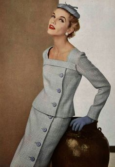 Old good #pencilskirt is already 61 years old! Christian Dior introduced the pencil skirt in his 1954 #Autumn #Winter collection.