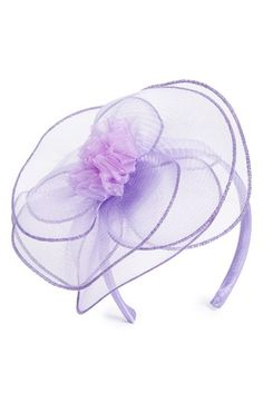 August Hat Floral Fascinator Headband