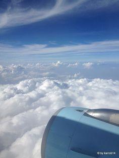 Über den Wolken Airplane View, Clouds