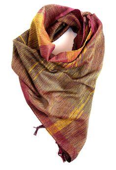 Aubrey handwoven cotton scarf