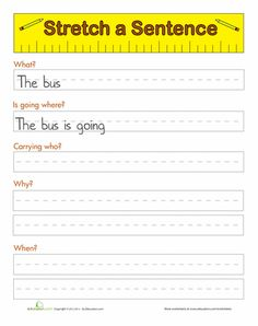 Worksheets: Sentence Starters - could be helpful in Nov/Dec.                                                                                                                                                                                 More