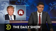 #TrevorNoah| Norm. POLITICANS  only need interp. whn ov'seas TRUMP need 1 HERE! LOL @TheDailyShow - Did Donald Trump Call for Hillary Clinton's Assassination?
