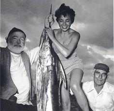 Ernest Hemingway and Inge Schönthal, 1953