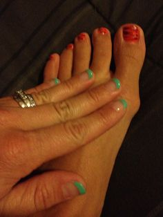 Nail art initials for your toes on etsy 250 my style pinboard cute nails prinsesfo Gallery