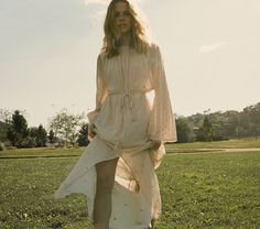 The Caravan Dress in Creme - available now