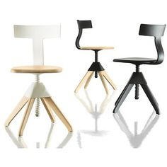 Tuffy is primarily a work chair, which can be imagined at the office, in the kitchen, at the café, school, a child's bedroom or anywhere els...