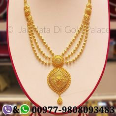 Bridal collection, for this wedding season. Embrace this magnificent piece of art, Gold RaniHaar. Code: 646 Weight(grams): 44.72 Carat: 24 #gold #jewelry #jaimatadigoldpalace #ranihaar #wedding #nepal #nepali #culture #tradition #happiness