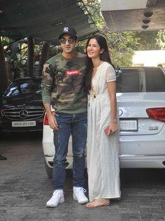 Ranbir Kapoor and Katrina Kaif at Shammi Kapoor's Christmas brunch. #Bollywood #Fashion #Style #Beauty #Handsome #Hot