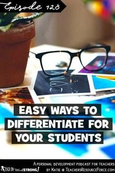 Differentiation: it's a crucial element of teaching to ensure all your students are able to access your lessons. However, it can be incredibly time consuming to adjust your lesson in multiple ways buy creating a range of resources, printing on rainbow pap Teacher Blogs, New Teachers, Best Teacher, High School Classroom, Classroom Ideas, Free Teaching Resources, Teaching Ideas, School Direct, Secondary Teacher