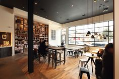 Name: Toby's Estate  Location: Williamsburg, Brooklyn  Design: Nema        As the American flagship for Australian coffee, Toby's Estate is ...