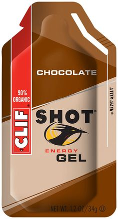 Energy Boost Easily. Digested by your body, this 85 percent organic energy gel contains electrolytes and just enough caffeine to power you through that final lap or last few sets. Clif Shot Energy Gel by Clif Bar.