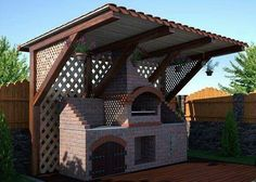 do-it-yourself brick street barbecue Outdoor Bbq Kitchen, Outdoor Barbeque, Pizza Oven Outdoor, Outdoor Kitchen Design, Design Barbecue, Parrilla Exterior, Barbecue Garden, Outdoor Grill Station, Brick Cladding