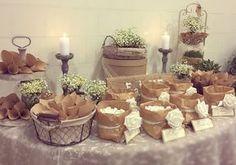 candy bar - confettata - charme en blanc - sweet table