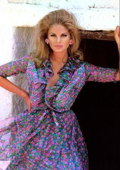 Kecia Nyman is a finish model who was one of the most important models in the 60´s/70´s, she was born 17.01.1941.