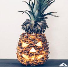 Happy Halloween! Or in Hawaiian, Hauʻoli Lā Heleuī! We hope everyone has a spooky (and safe) evening. // #HawaiianHalloween #Halloween #Pineapple #JackO'Lantern