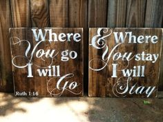 distressed diy wooden and hand painted signs with quotes for wedding - wedding sayings