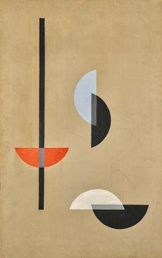 Moholy Nagy, László - Composition - Bauhaus - Oil on canvas - Abstract Bauhaus Art, Bauhaus Design, Bauhaus Painting, Modern Art, Contemporary Art, Laszlo Moholy Nagy, Plakat Design, Illustration Art, Illustrations