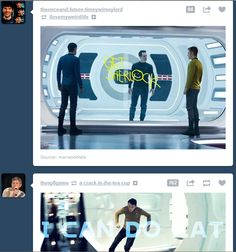 """silentblackpanther: """"Just popped up on my dash…."""" FANGIRL SCREAM"""