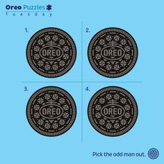 Oddly delicious. #Tuesday #OreoPuzzles