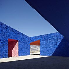 Niyang River Visitor Center in Tibet, by Standardarchitecture-Zhaoyang Studio. The building was constructed using local vernacular techniques and brightly coloured pigments from local minerals have been painted directly onto the stone walls of the interior.