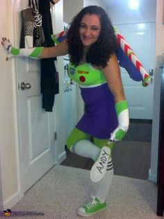 Buzz Lightyear Costume - 2013 Halloween Costume Contest via @costumeworks
