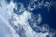 During his eight-month stint at the International Space Station, Dutch astronaut Andre Kuipers captured some absolutely gorgeous images of planet Earth. Earth And Space, Fine Art Prints, Framed Prints, Poster Prints, Canvas Prints, Canvas Art, Sea Ice, Earth Photos, Space Photography