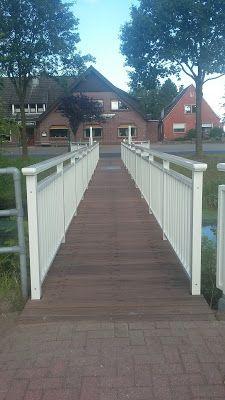 Wiesmoor-info: Kanalbrücke in Rammsfehn erneuert