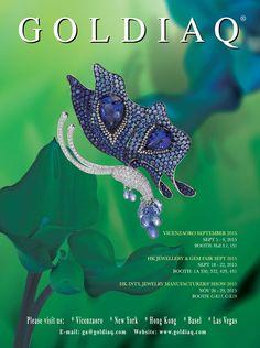 Goldiaq Creation Ltd. #HKJE #Magazine #FallWinter2015 #Advertisement #jewellery #diamond #finejewellery