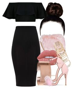 """""""4 10 17"""" by miizz-starburst ❤ liked on Polyvore featuring Boohoo, Lime Crime and ALDO"""