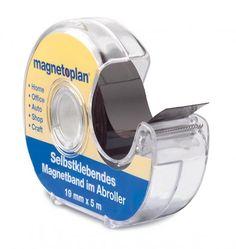 Páska magnetická Magnetoplan 5 m x 19 mm, samolepící | Alemat.cz