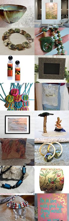 Fabulous Finds and Unique Gift Ideas by Susan O'Hanlon on Etsy--Pinned with TreasuryPin.com #summertrends